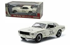GREENLIGHT 1:18 1967 FORD SHELBY MUSTANG #33 JERRY TITUS SHELBY TRIBUTE EDITION