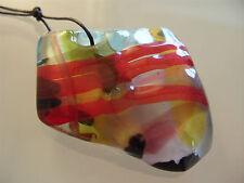 Anhänger aus original Muranoglas Schmuck aus Glas UNIKAT Handarbeit bunt