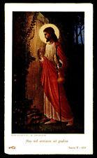 santino-holy card*ediz. b.angelico serie T-459 STO AD OSTIUM ET PULSO