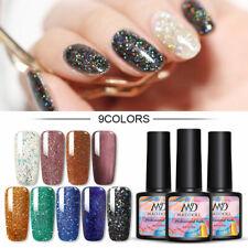 8ml Mad Muñeca Gel UV Brillante Esmalte de uñas brillos y lentejuelas Soak Off Esmalte De Uñas