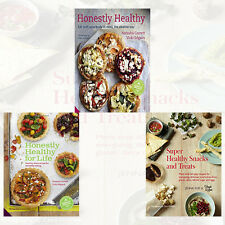 Honestly Healthy Snacks Collection 3 Books Set NEW Honestly Healthy for Life UK