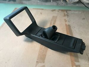 89-93 OEM Pontiac Grand Prix GTP 5 speed manual shifter bezel trim console plate
