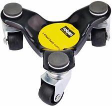 3 Wheel Chariot roulette motionnaire matériel manutention trollies