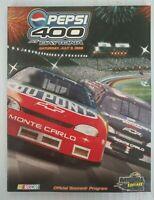 NASCAR Pepsi 400 at Daytona July 3, 1999 Official Souvenir Program Signed