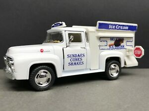 "1:38 Kinsmart 1956 Ford F-100 Pickup Ice Cream Truck Approx 5"" Long"