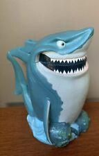 Disney On Ice Finding Nemo BRUCE the SHARK Mug Stein Cup Flip Lid