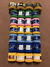 16 Roll lot Crochet Thread Sampler (Size 3 Thread) (6 Colors) STAR NEW