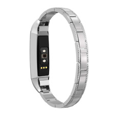 For Fitbit Alta Hr and Bands Women Small Stainless Steel Replacement Band