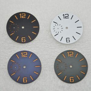 38.5mm Sterile Luminous dial Sandwich watch dial fit ETA 6497 ST3600 Movement