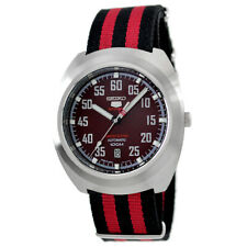 Seiko 5 Sports JAPAN Made LE Red Carbon Fiber Dial Helmet Turtle Watch