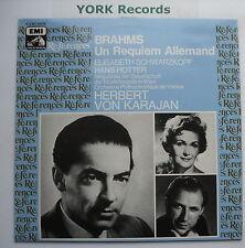 2C 051-43176 - BRAHMS - Un Requiem Allemand SCHWARZKOPF / KARAJAN - Ex LP Record