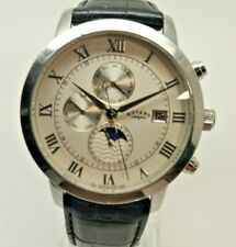 Mens Rotary GS02377/01 Automatic Moonphase Chronograph Watch (267F)