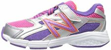 Kids New Balance KV513GRY Silver Pink Purple 100% Authentic Brand New