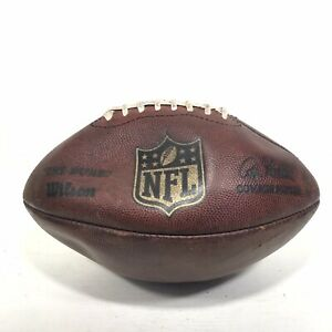 "Wilson NFL ""The Duke"" Official Kicker Football Game Used WK 13-1 Genuine"