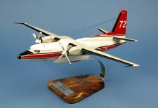 Fokker 27 firefighter Pélican 72 F-zbfg 1:65 woodmodel/Aircraft/yakair