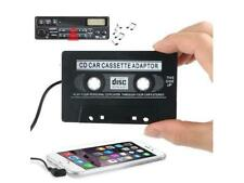 Car Audio Tape Cassette Adapter iPhone iPod Mp3 CD Radio 3.5mm Jack AUX - Black