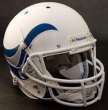 """NEW ORLEANS BREAKERS 1984 Football Helmet Nameplate """"BREAKERS"""" Decal/Sticker"""