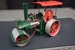 Wilesco Dampfmaschine Old Smoky Dampfwalze Neuwertig!!