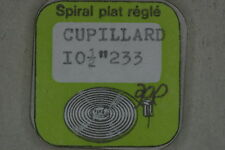 Hairspring balance CUPILLARD 233 Spirale bilanciere