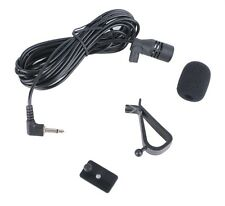 Car External Microphone 3.5mm in 3m Wires for Stereo Audio Bluetooth Hands-free
