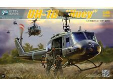 Kitty Hawk Models 80154 1:48 Uh-1D Huey Helicopter Plastic Model Kit - New