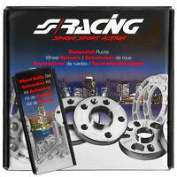 Coppia Distanziali + Bulloni Simoni Racing Spessore 16MM OPEL CORSA C  D  4 FORI