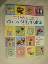 101 Weekend Cross Stitch Gifts by Lesley Teare~over 350 motifs~New~LBDEE