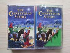 THE CHRISTMAS STORY 2 X CHILDREN'S CASSETTES 1994/98 SONGS FOR CHILDREN TESTED.