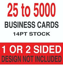 Best Value Business Cards 35 X 2 14pt 1 Or 2 Sides Choices Available