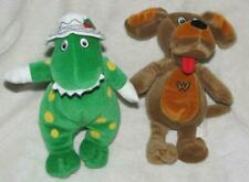 The Wiggles Wags the Dog & Dorothy the Dinosaur Plush 2003 Spin Master