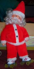 ROLLER SKATING SANTA CLAUS VINTAGE ANIMATED MOTORIZED Super Cute!!!