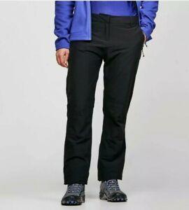 Craghoppers Women's Kiwi Pro Waterproof Trousers Black Size 16R (a)
