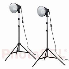 PhotoSEL ls12e42 Studio Illuminazione Kit 2X55W 3000LM 5500K 90 + CRI delle lampadine