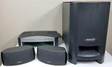 Bose AV3-2-1 Powered Speaker System W/CD Player w/ Remote *Tested*