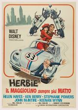 """Reproduction """"Herbie"""", Movie Poster, Home Wall Art, Size: A2"""