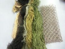 DIY Military Camouflage Netting for Headpiece Ghillie Suit Hunting No Reserve
