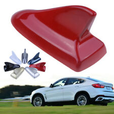 Red Car Shark Style Fin Dummy Roof Decoration Aerial Antenna For Audi Ford Decor