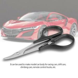Tamiya 74005 Stainless Steel Curved Scissors RC Car Body Plastic Tools Parts A