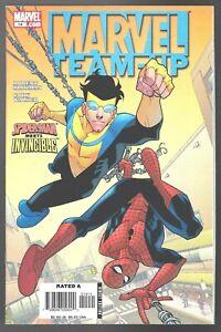 MARVEL TEAM-UP # 14 SPIDERMAN INVINCIBLE ROBERT KIRKMAN COMIC 2006 CODRY WALKER