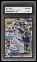 CODY BELLINGER TOPPS ROOKIE GOLD CUP 1ST GRADED 10 BASEBALL TRADING CARD DODGERS