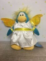 Disney Club Penguin SNOW FAIRY Plush Doll Holiday Series with Gold Coin NWT