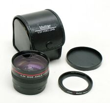Vivitar 0.5X Wide Angle Semi Fish-eye Video Lens attachment 46mm adapter