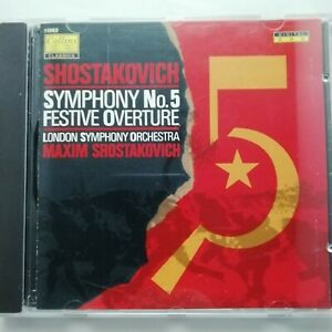 Shostakovich: Symphony No. 5 etc. / Maxim Shostakovich / Collins CD 11082