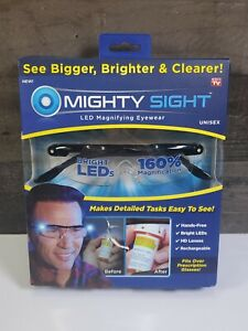 Mighty Sight LED Magnifying Eyewear, Fits Over Prescription Glasses