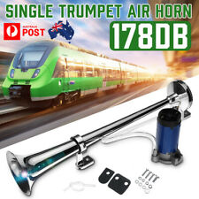 178DB Single Trumpet Car Air Horn & 12V Compressor Super Loud Truck Lorry Train