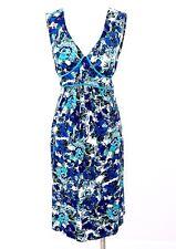Blue Floral Maternity Summer Dress Sundress Tete A Tete By VALJA (Denmark) Sz S