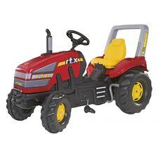 Rolly Toys X-Trac Traktor mit Zweigangschaltung und Bremse Trettraktor mit Übe