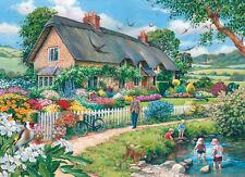 La House of Puzzles-Puzzle 500 PEZZI-pigri giorni insolito PEZZI