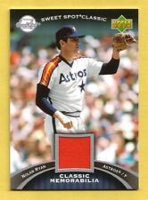 NOLAN RYAN 2007 Sweet Spot Classic Classic Game-Used Jersey #NR Astros (Orange)