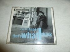 CYNDI LAUPER - That's What I Think - 1993 UK Austrian-pressed limited EDITION CD